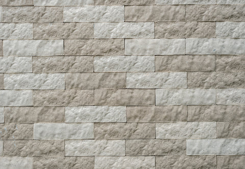 Ripple Stone Brick Wall