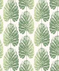 Evergreen Leaf Stripe