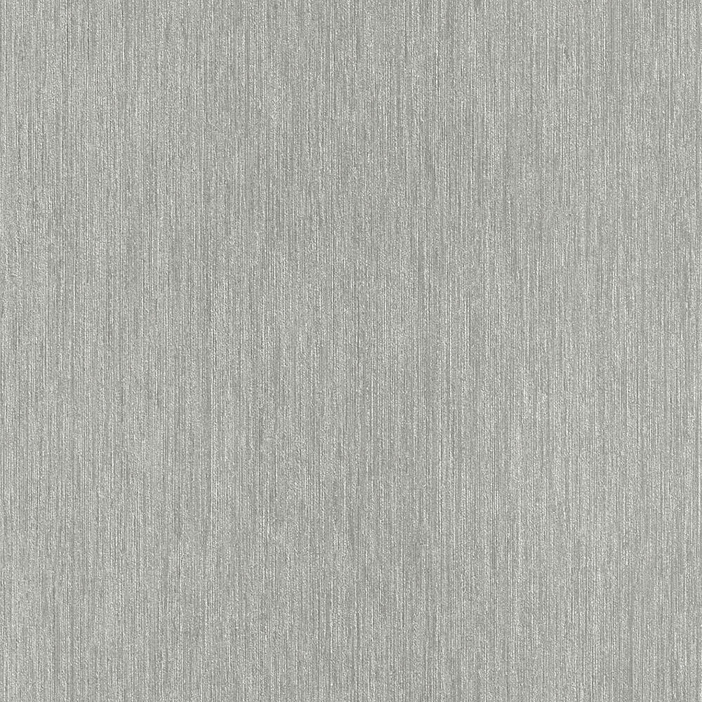 Neutral Grey Silver Lineal Textured Plain