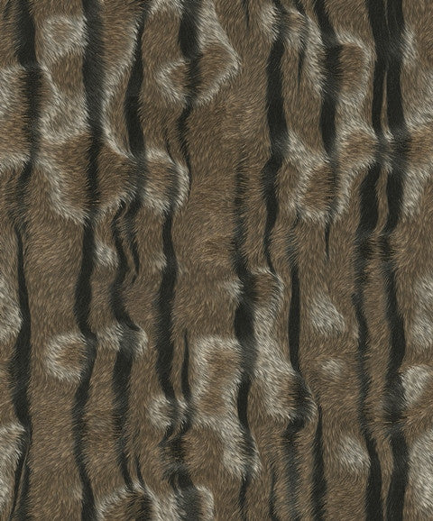 Morbidezza Textured Tiger Skin Wallpaper