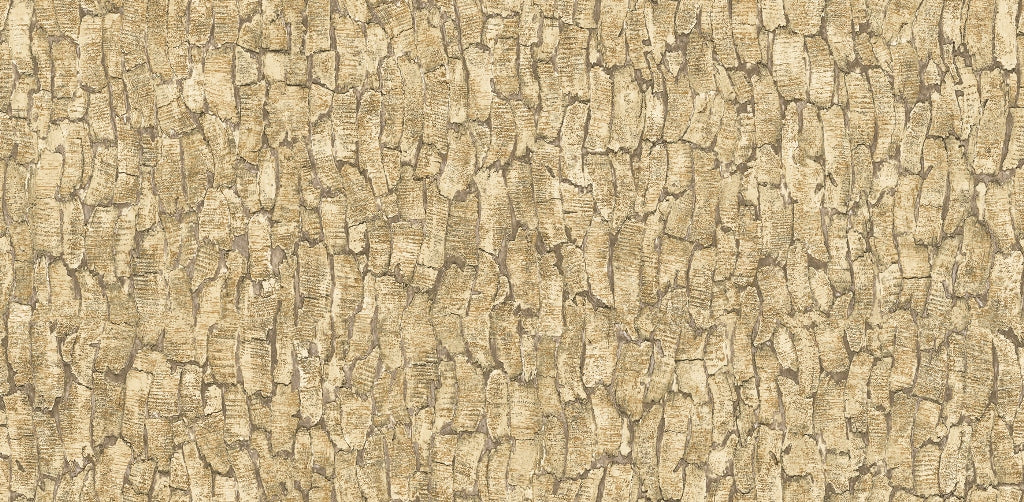 3D Rustic Bark Wallpaper