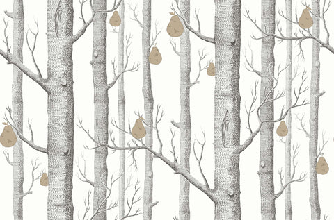 Cole & Son Woods & Pears Birch Trees Wallpaper