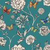 Keilena Butterfly Rose Modern Colourful Floral