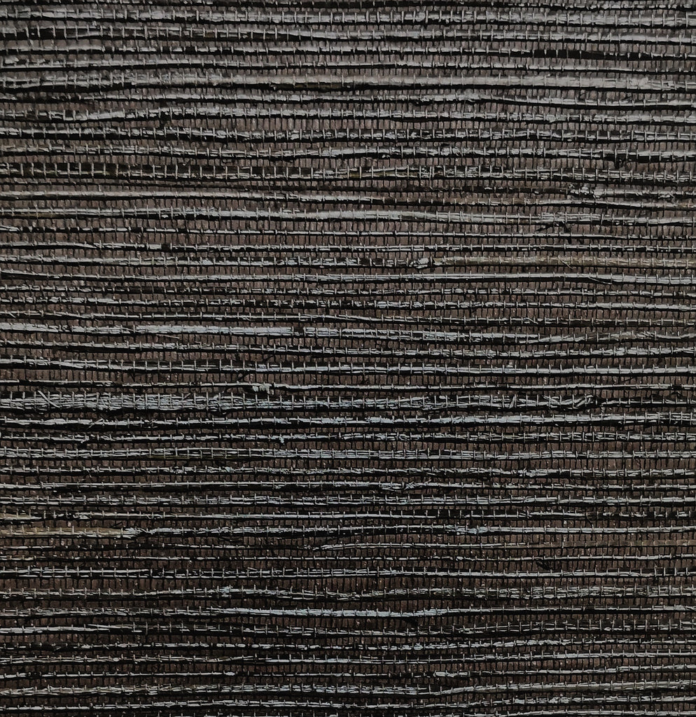 Dark Brown Coarse Weave Seagrass
