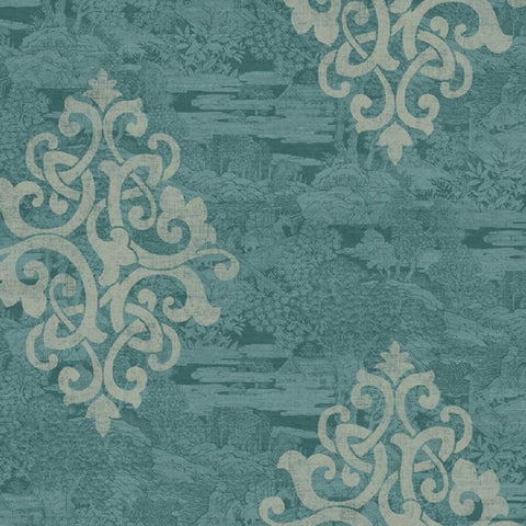 Damask on Monotone Sumi