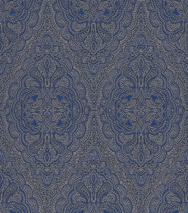 Moroccan Inspired Metallic Large Damask