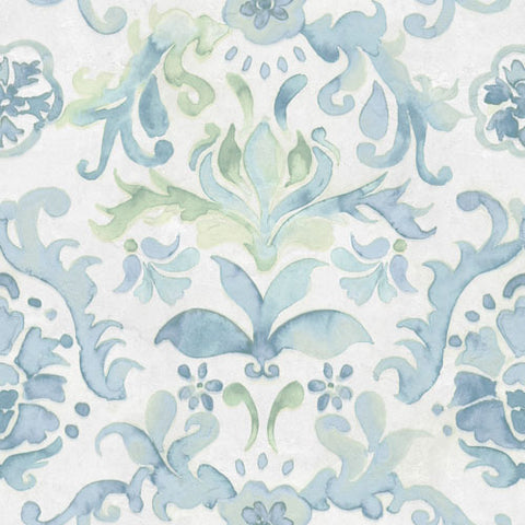 Watercolour Damask