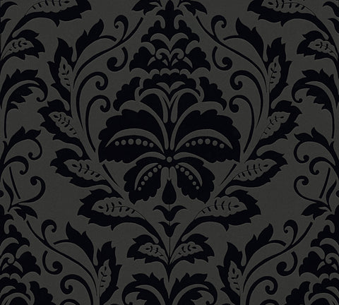 Embossed Retro Damask