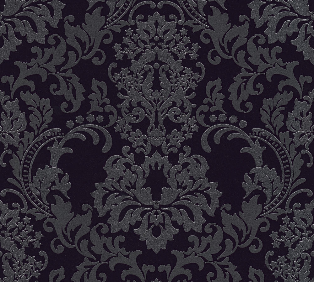Large Textured Damask Glitter