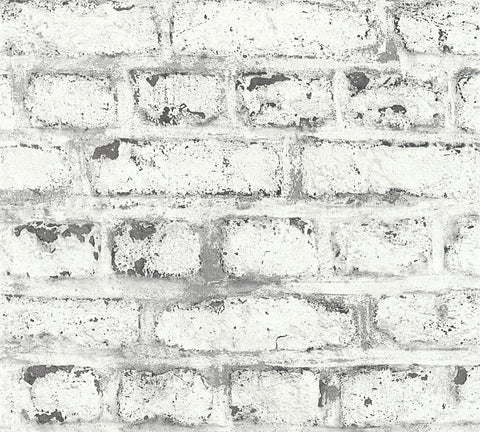 White Washed Distressed Brick