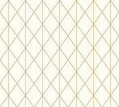 Metallic Rhombus Wallpaper