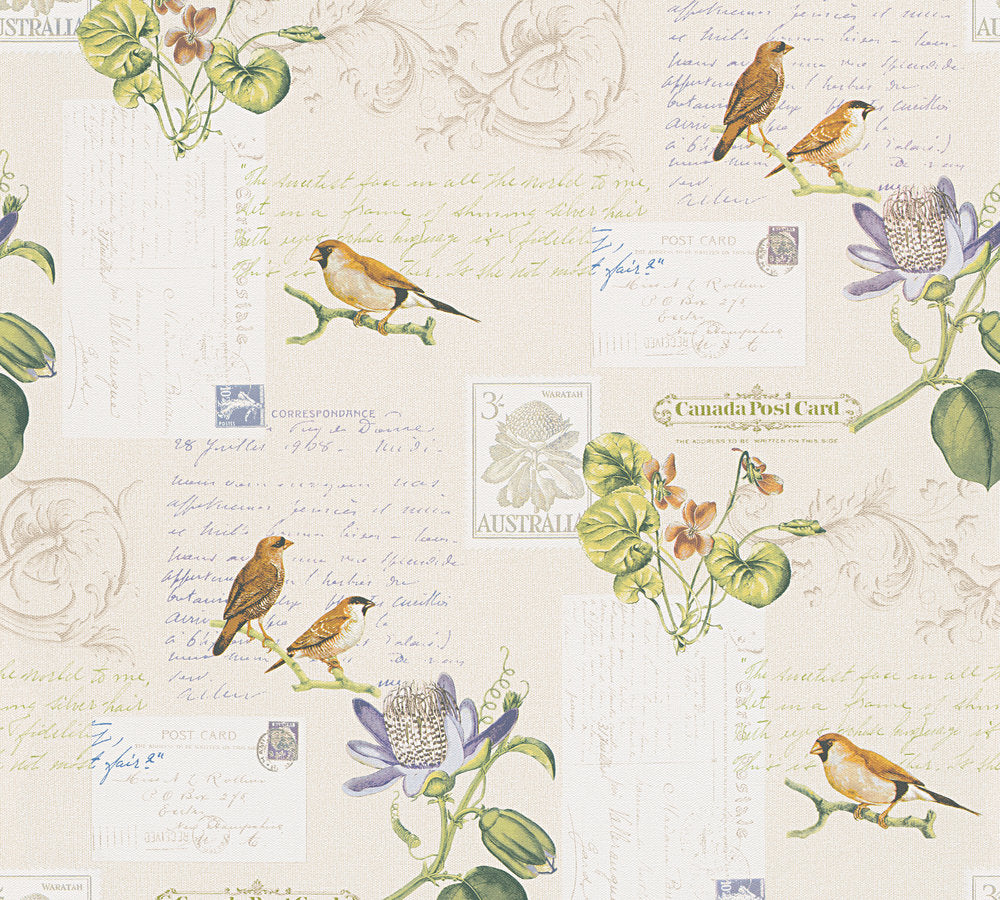 Old World Finches & Postcards