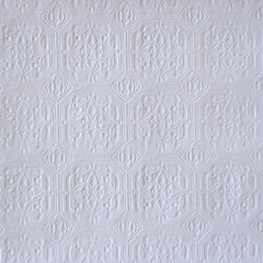 Derby Pressed Metal Paintable Wallpaper