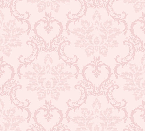 Pearl Modern French Provincial Damask Wallpaper