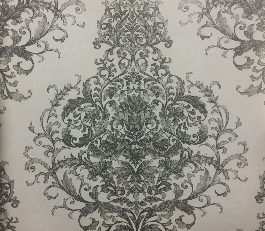 Classic Filigree Scroll Damask