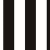 5cm Black & White Stripe