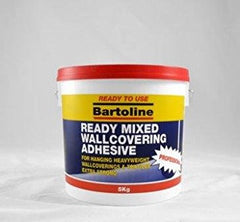Bartoline Ready Mixed Wallcovering Adhesive 5kg