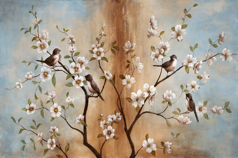 Birds and Floral Branches