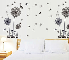 Dandelions and Butterfly Wall Sticker