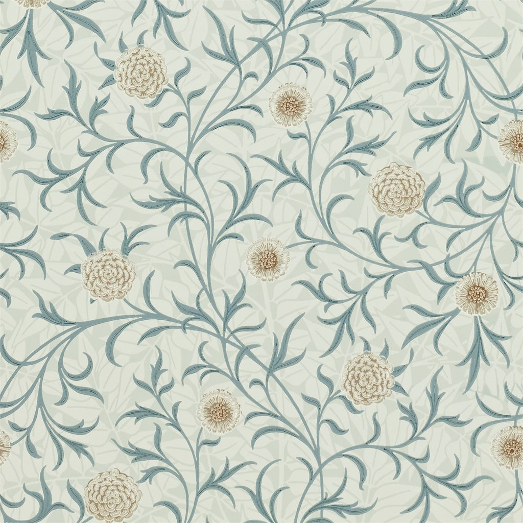 Scrolling Flowers by Morris. Wallpaper