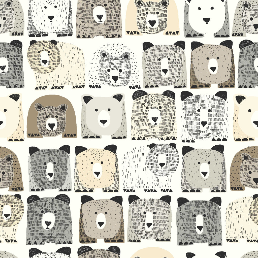 Dwell's Bears Wallpaper