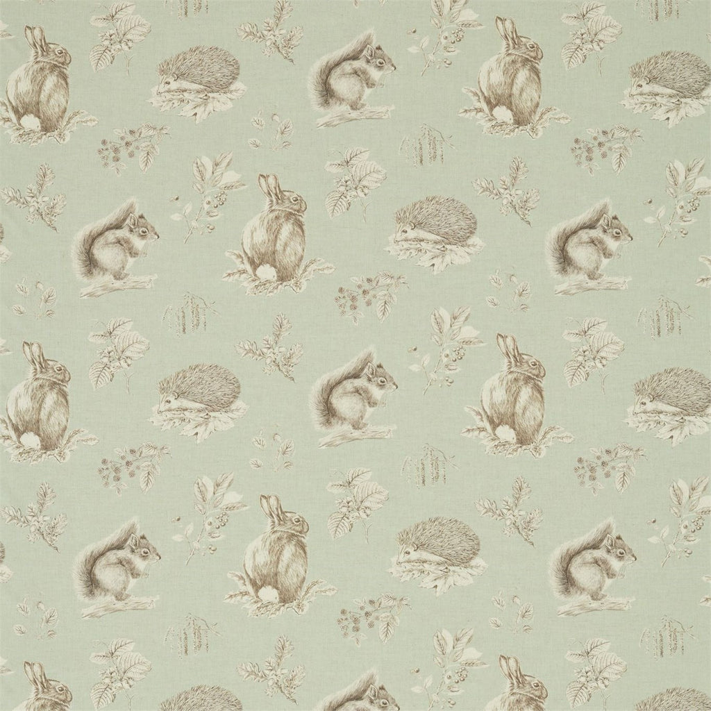 Squirrel & Hedgehog Fabrics