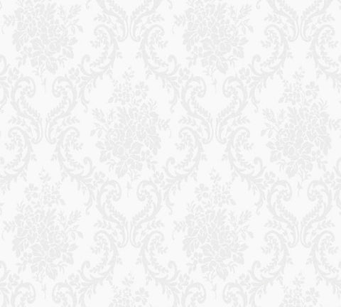 Floral Shimmer Pearl French Damask