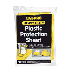 Uni-Pro Heavy Duty Plastic Protection Sheet
