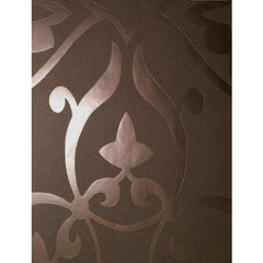 Arabic Inspired Ornamental Damask Copper