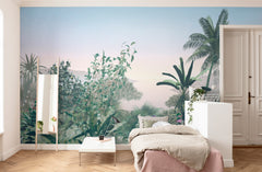 Matin Tropical Wall Mural