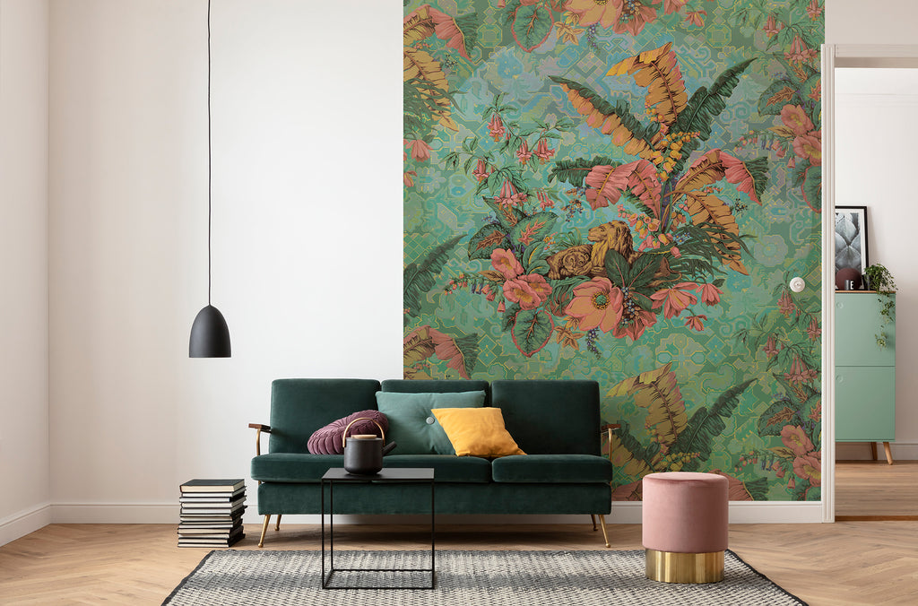 Orient Rose Wall Mural