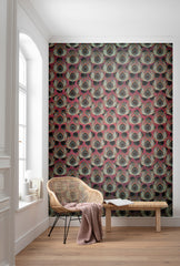 Paon Rouge Wall Mural