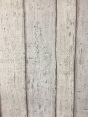 Wide Washed Timber Texture Wallpaper