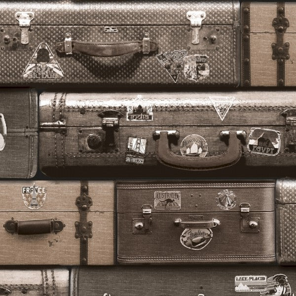 Suitcases Countries Travel the World Wallpaper