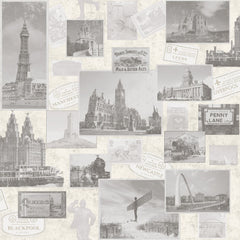 Post Cards From UK Wallpaper