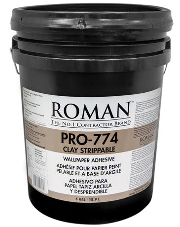 Roman Pro-774 Clay Strippable Wallcovering Adhesive