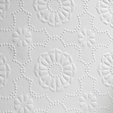 Alexander Boho Mosaic Embossed Paintable