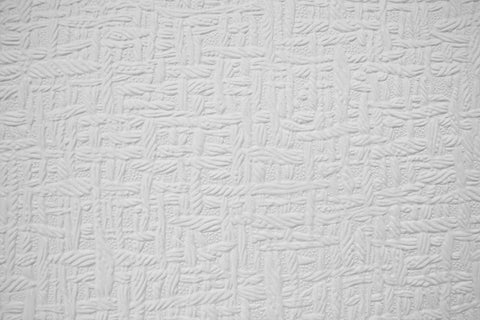 Basket Weave Paintable Wallpaper