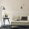Contemporary Metallic Stripe Wallpaper