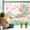 Colourful Christmas Deer Wall Sticker