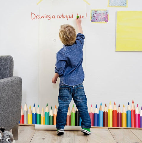 Coloured Pencils Wall Sticker