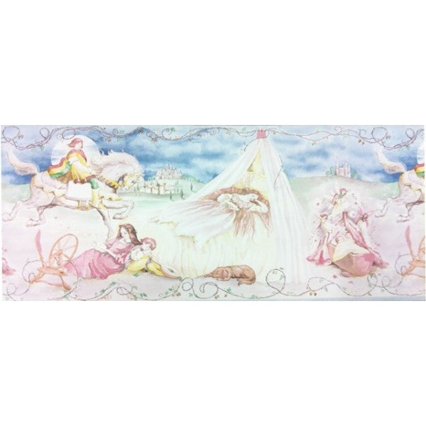 Sleeping Beauty Wallpaper Border