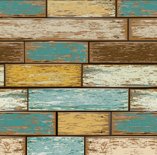 Scrapwood Timber Wallpaper