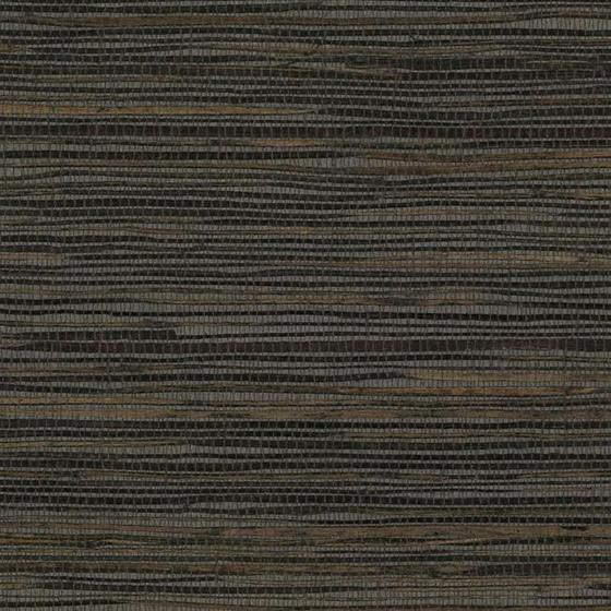 Blue Charcoal Brown Weave Grasscloth Seagrass