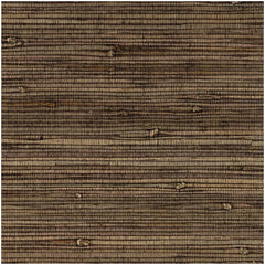 Bronze Brown Modern Weave Grasscloth Seagrass