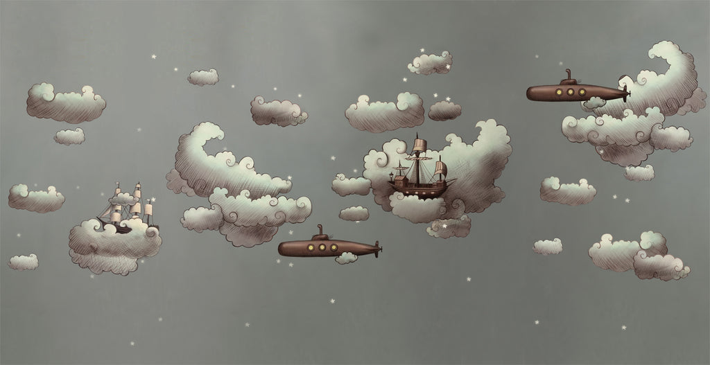 Dreamland Ships & Submarines Mural