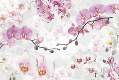 Allure Orchid Wall Mural