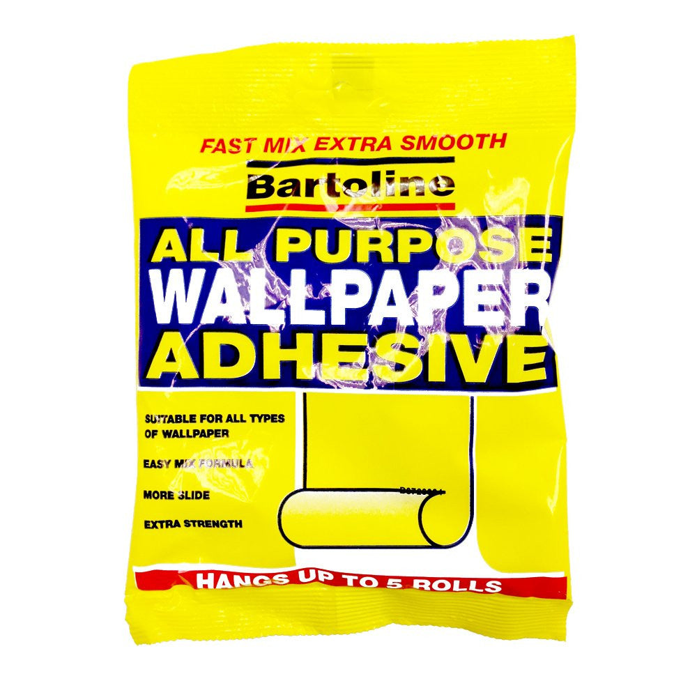 Bartoline Wallpaper Paste Adhesive Glue And Size 100g Wallpaper