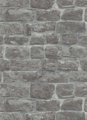 Modern Rubble Stone Wallpaper