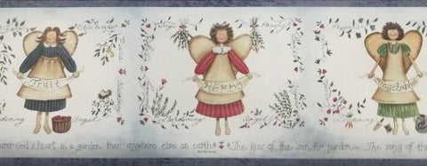 Country Kitchen Angels Border